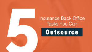 insurance back office tasks
